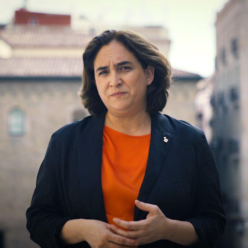 Ada Colau: Hoy Barcelona da un paso histórico. Desconectamos de los oligopolios