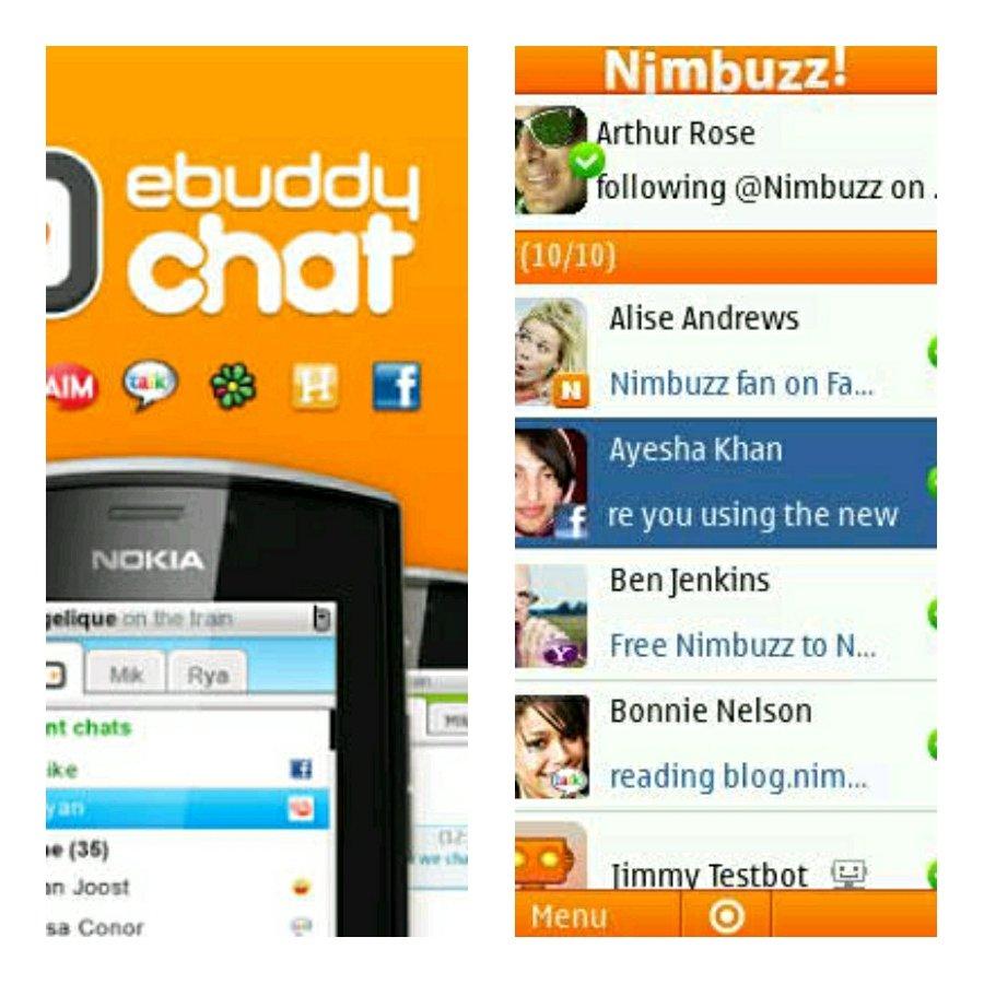 Nimbuzz - Twitter Search