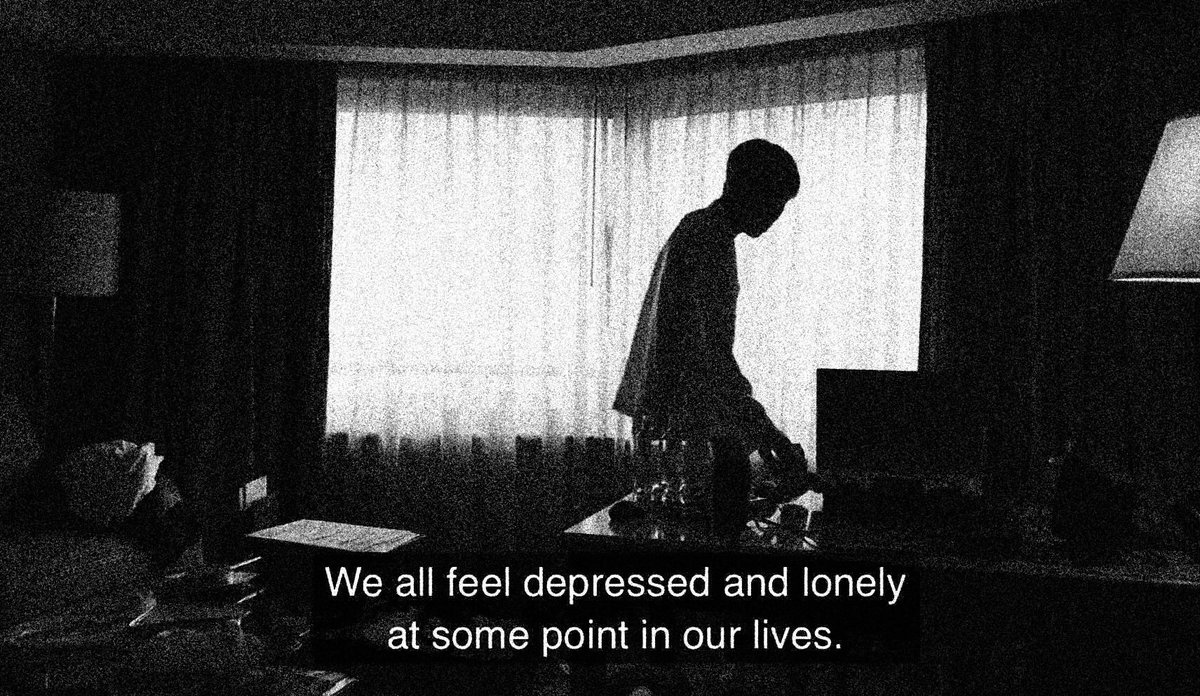 """on Twitter: """"""""we all feel depressed and lonely at some ..."""