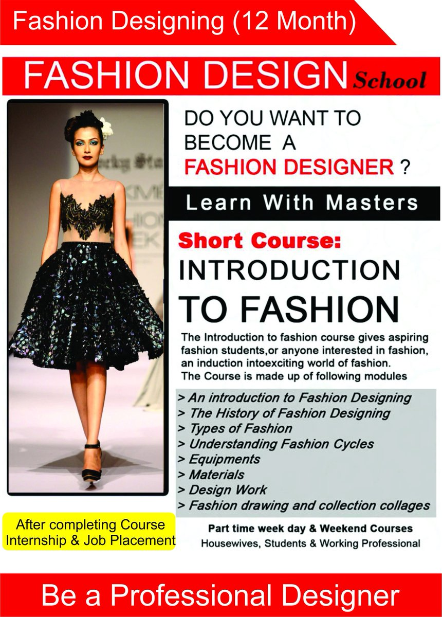Vfxmultimediaschool On Twitter Learn Master In Fashion Designing With Masters 100 Placement Assistance Admission Open Call 9619626585 8850928929 Fashiondesigningcourse Fashionworld Learnfashioncourse Designingcourse Fashionandartacademy