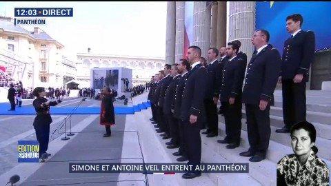 Simone Veil et son époux Antoine au Panthéon : revivez la cérémonie présidée par Emmanuel Macron DhAw20jX0AEQKJq?format=jpg&name=small