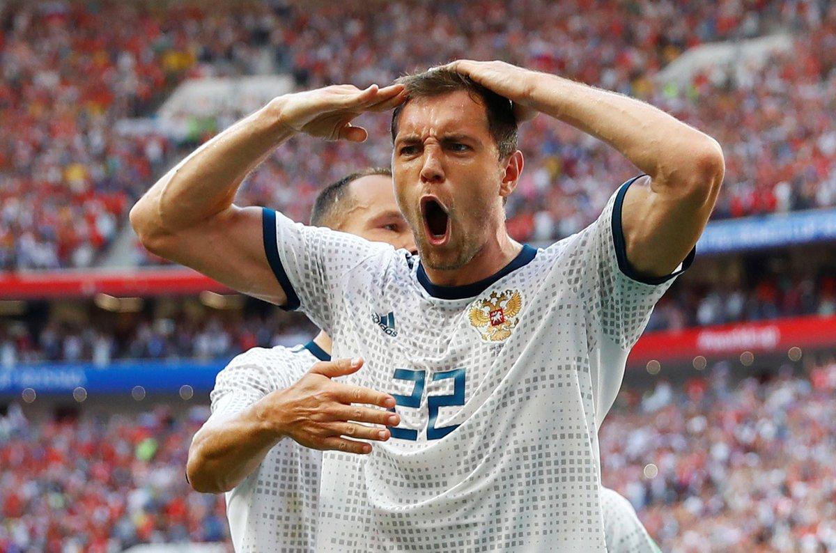 Rus 1 Esp Egypttoday Breaking Esprus Worldcup вместемыкоманда Fiersdetrebleus كأس العالم اسبانيا روسياpic Twitter Hdqtxds2f8