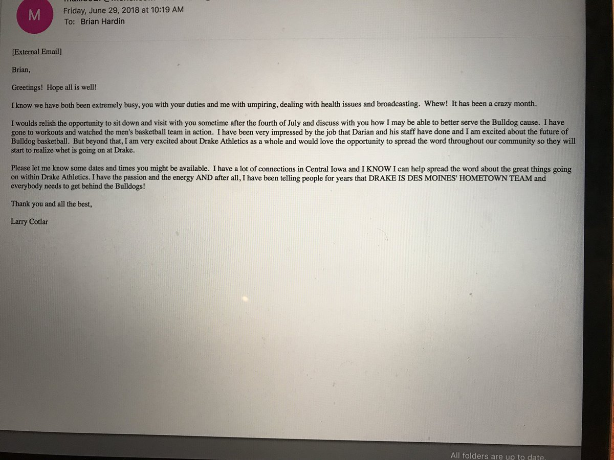 "brian hardin on twitter: ""larry cotlar sent me this email friday"