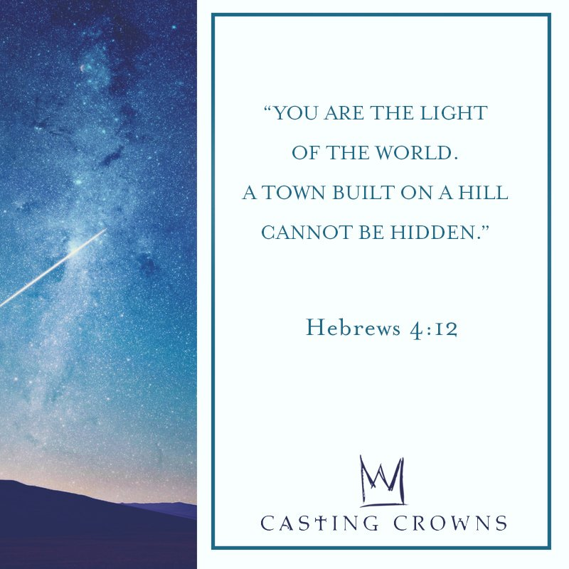 Casting Crowns (@castingcrowns) on Twitter photo 01/07/2018 12:31:06