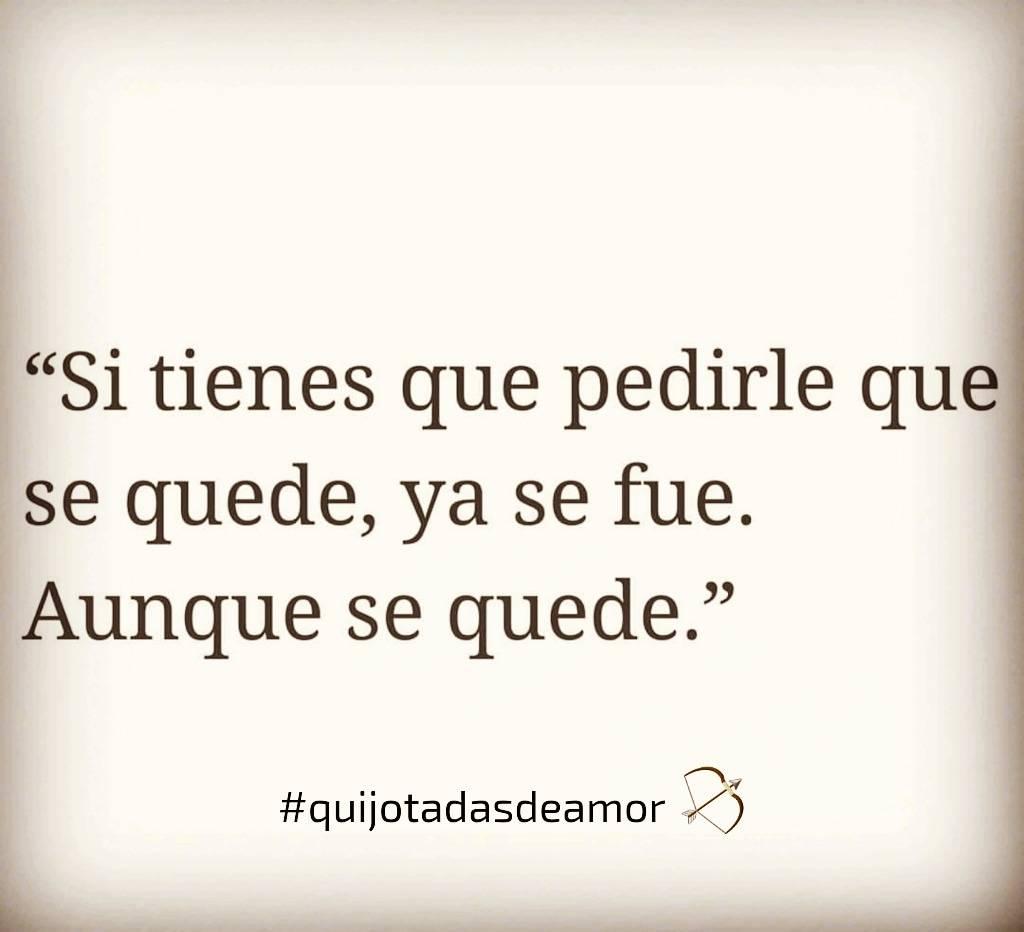Quijotadas De Amor On Twitter Quijotadasdeamor Ya Se Fue