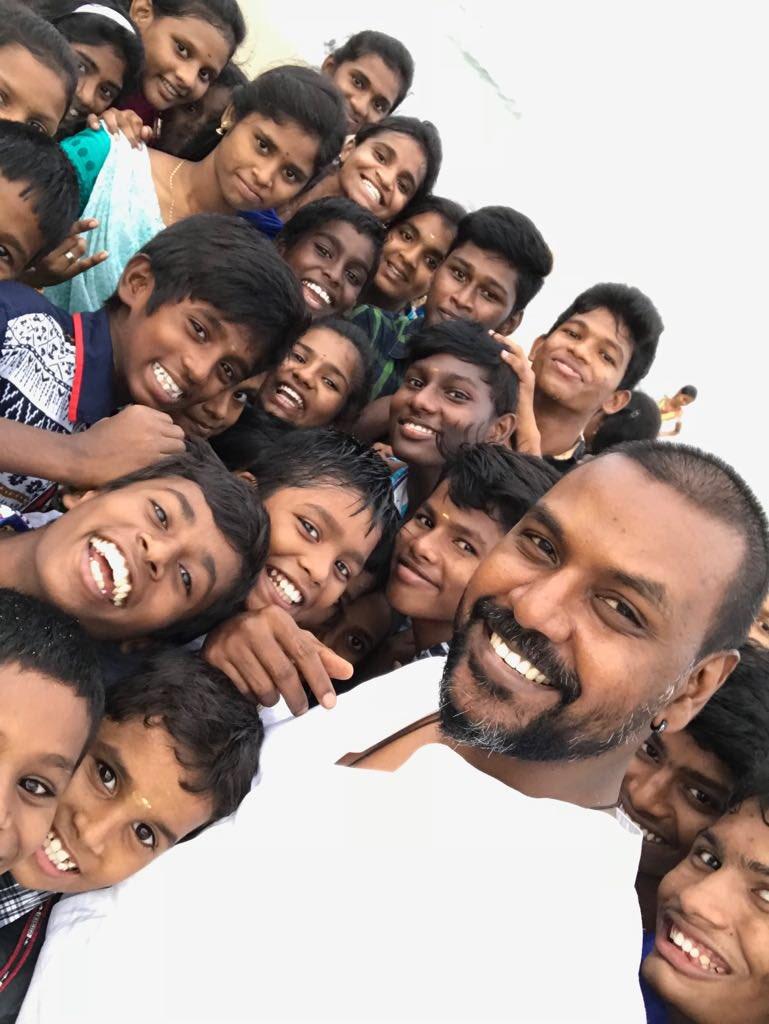 Image result for raghava lawrence seva trust