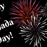 Image for the Tweet beginning: Happy Canada Day! Bonne fête