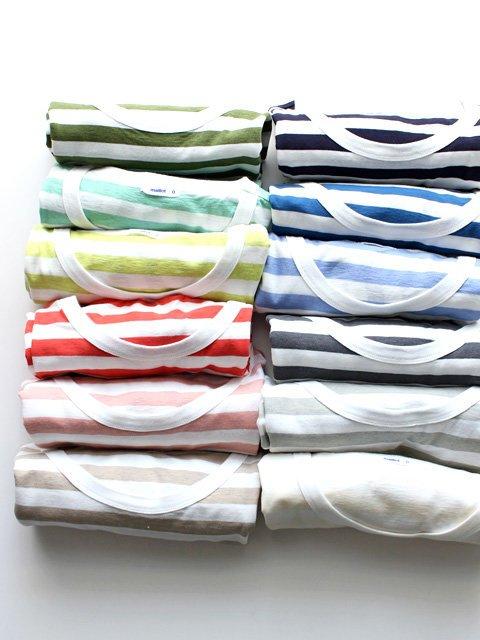 [item] おもわず集めたくなる「maillot|light border Short sleeve T-shirt(ライトボーダー・半袖)」