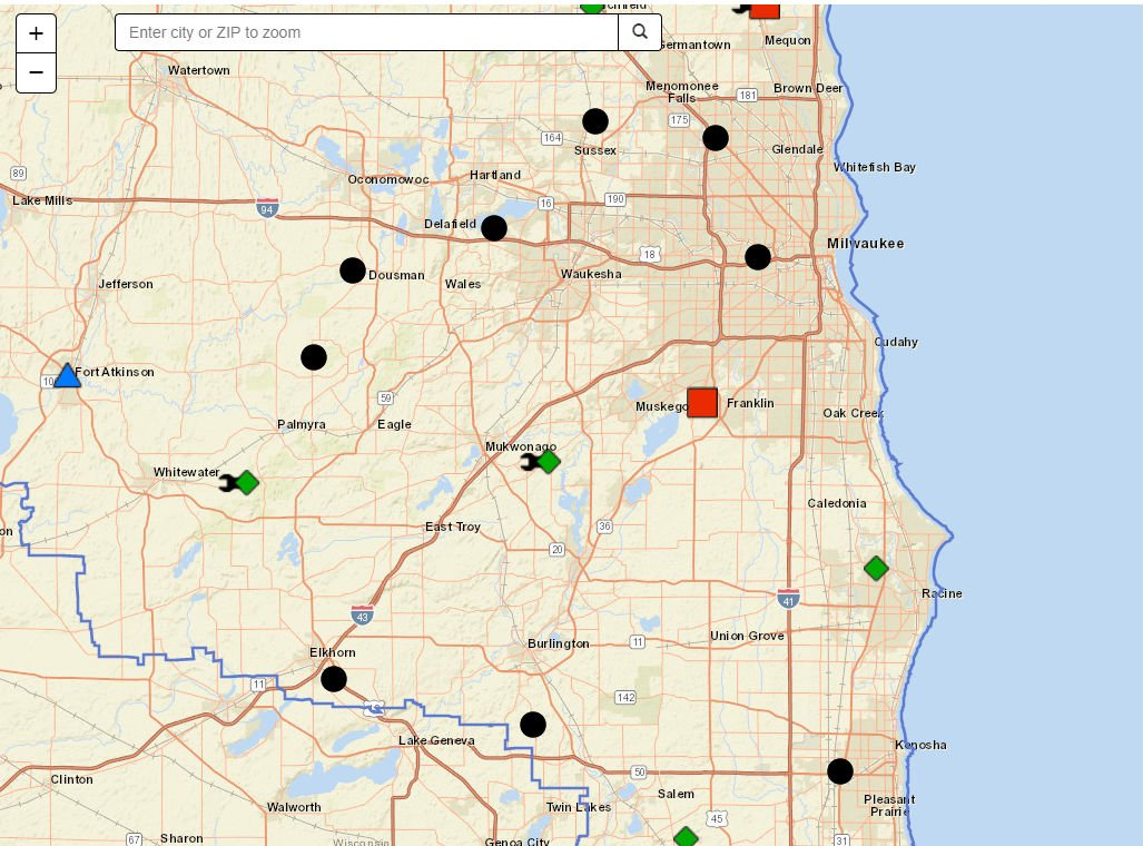 Fox6 News On Twitter We Energies Outage Map Strong To Severe