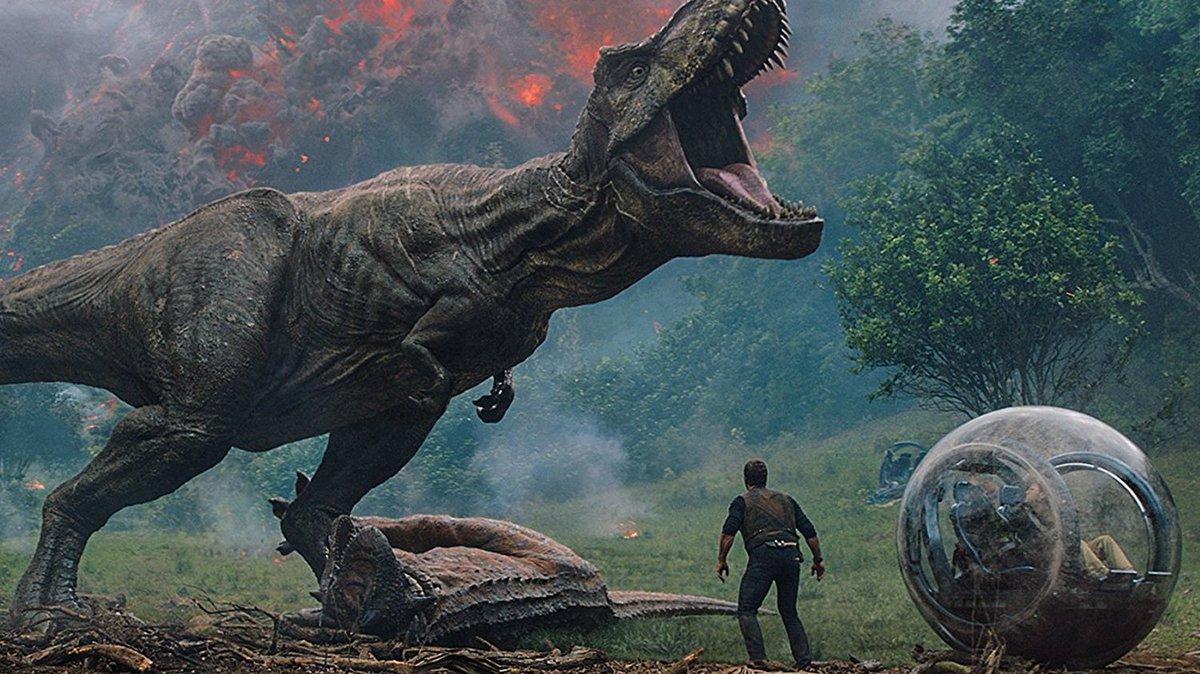 #JurassicWorldFallenKingdom stayed top of the US box office this weekend: https://t.co/RKoER7TLPp