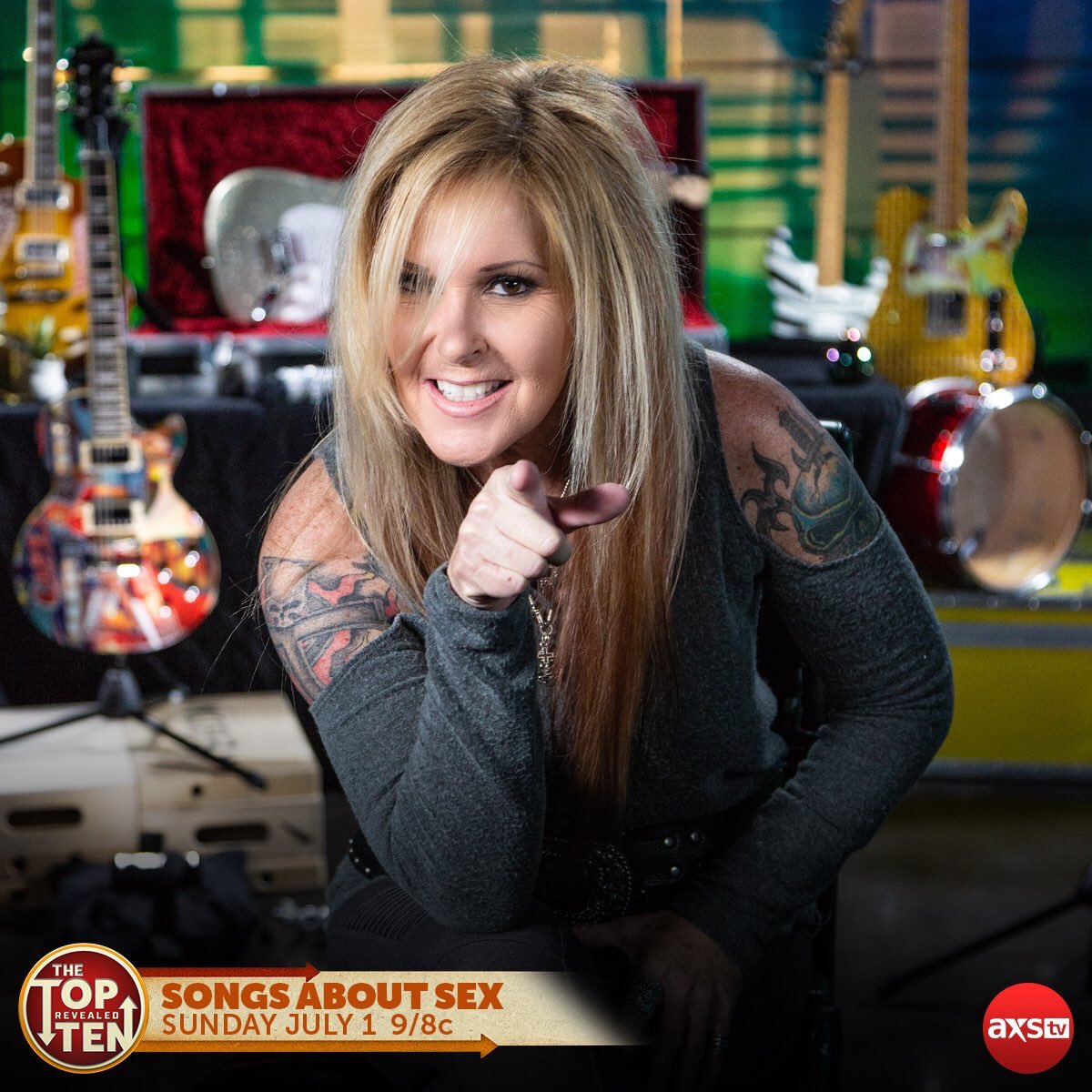 Tonight! (July 1) on @AXSTV's #TopTenRevealed, were talking about SEX! The Top Ten songs about sex to be exact. Set your DVR NOW: vupulse.com/c/3264