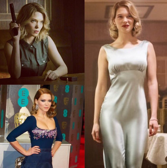 A happy birthday to Léa Seydoux!  Spectre is underrated.