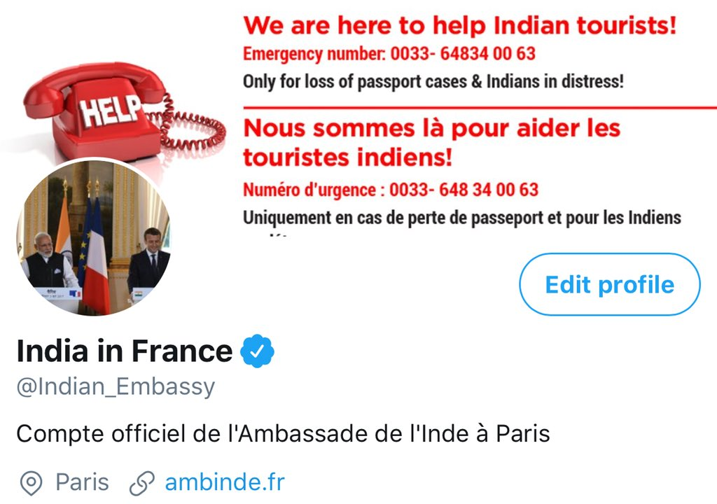 India in France on Twitter: