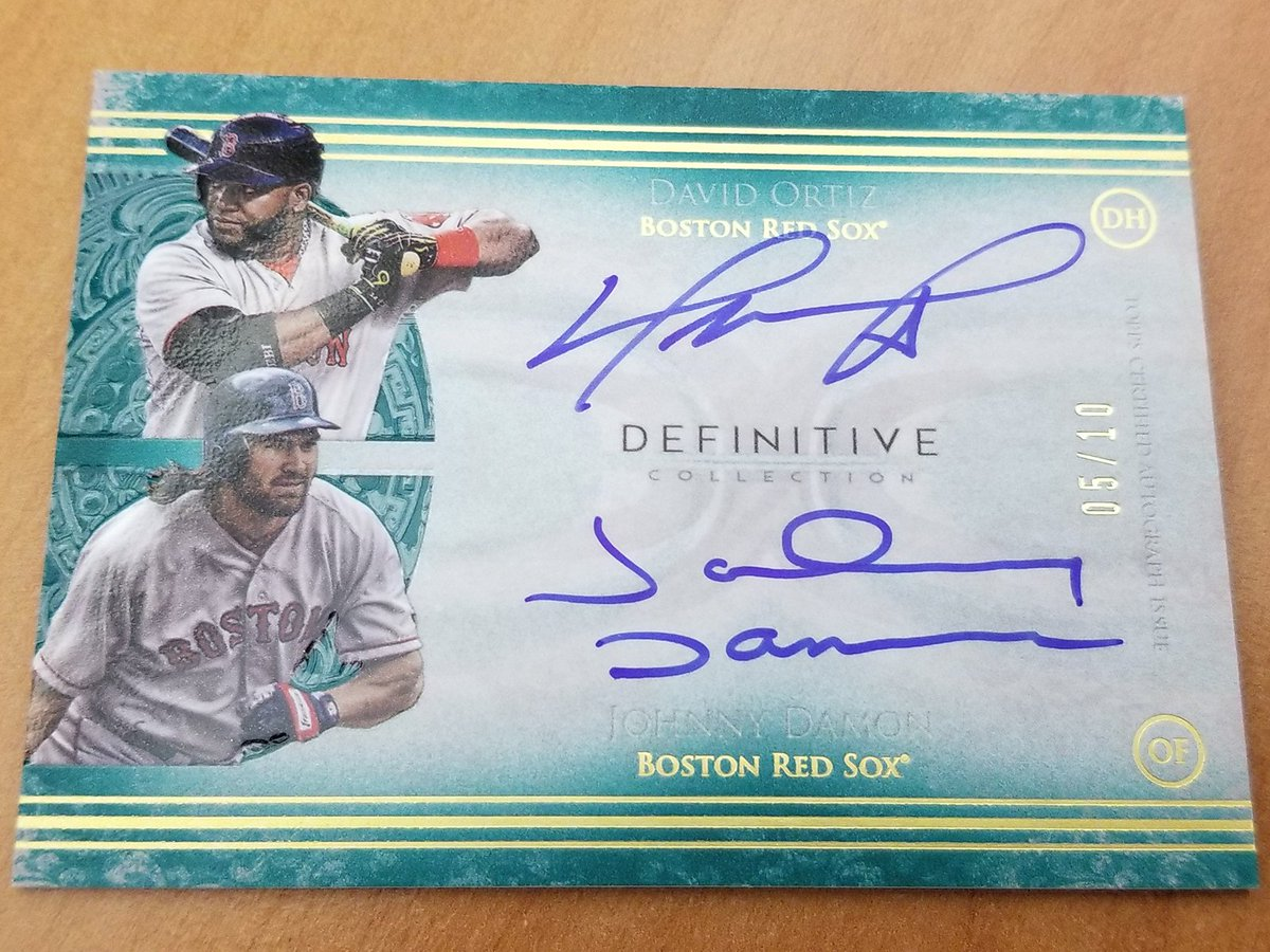 """People forget that the Yankees blew a 3-0 lead. These """"Idiots"""" made it happen. @RedSox Nation, you NEED this card.     RT to enter to win. #MLBCards"""