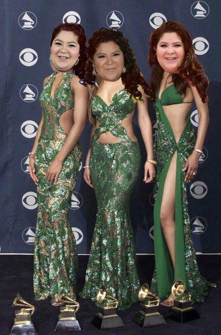 Happy birthday fiesta salsa queen of the Grammys