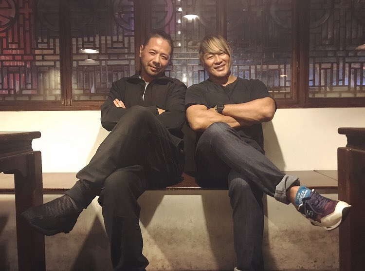 I met @ShinsukeN at Taiwan.