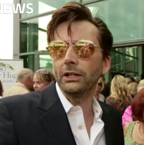 David Tennant at the Jersey screening of You, Me And Him on Sunday 1st July 2018