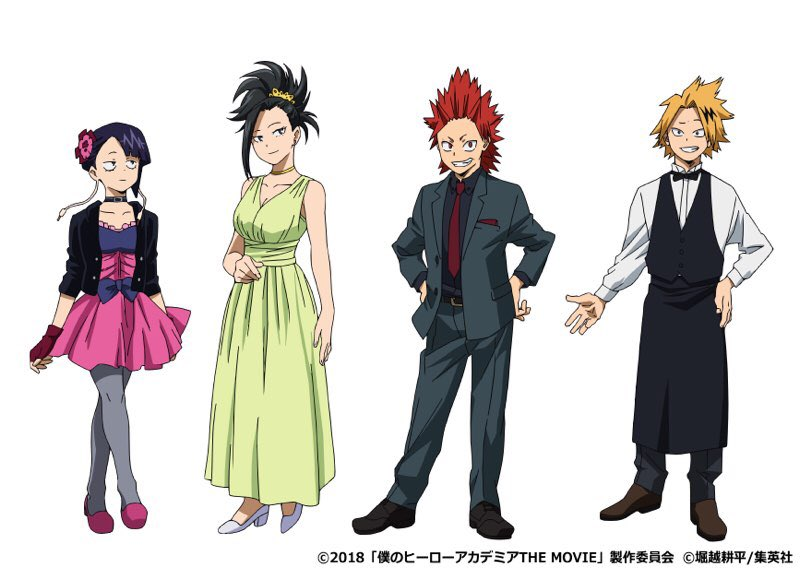 Image result for bnha movie