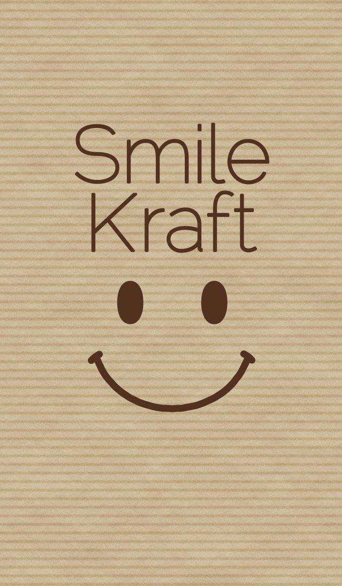 #linesticker #LINE着せかえ  Smile &amp; Kraft paper<br>http://pic.twitter.com/1EJKEzMqLx