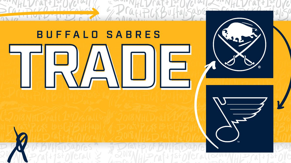 Buffalo Sabres On Twitter Trade Weve Acquired Forwards Tage