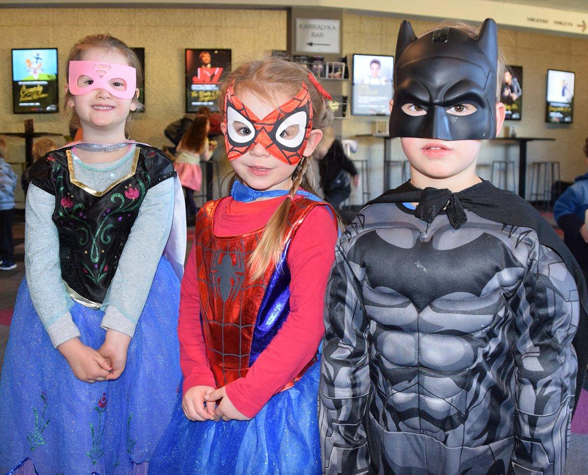 positive superheroes