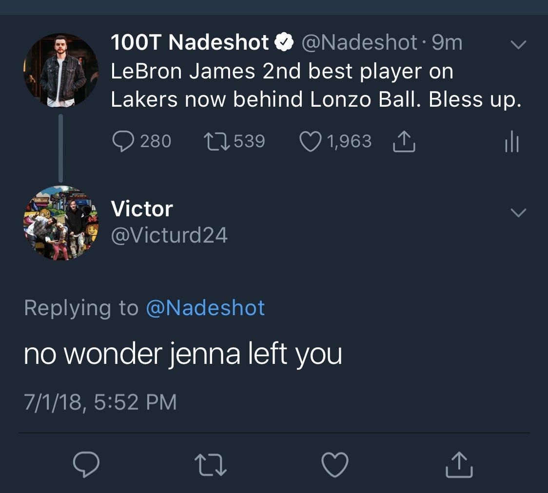Nadeshot twitter ninja