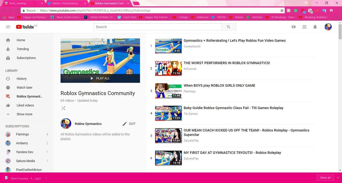 Roblox Gymnastics Game - Roblox Gymnastics On Twitter Made A Massive Playlist For