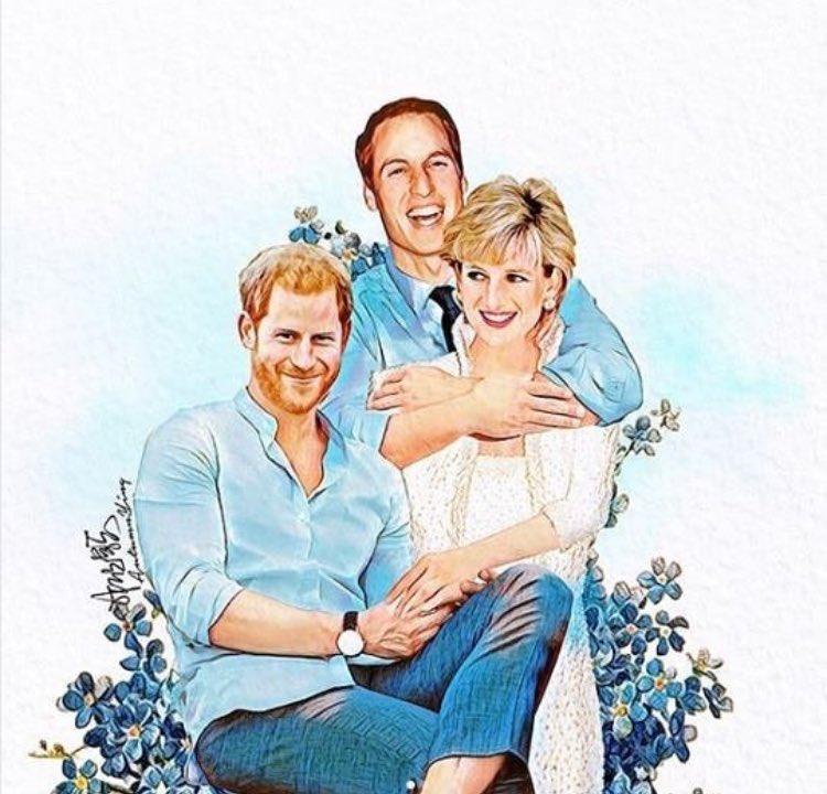 Happy birthday Princess Diana       Pic autumn.ying. (Instagram)
