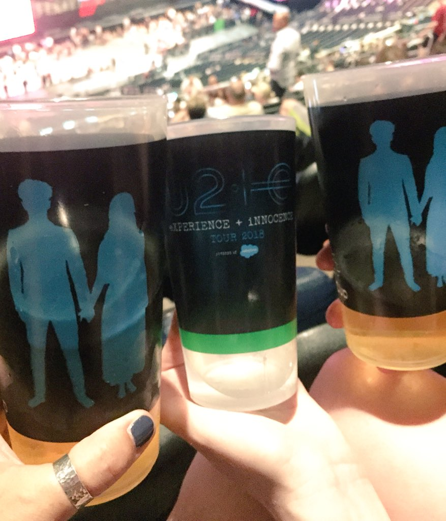 @rcupworld @TheGarden @U2 We got our cups and will be coming home to Belfast, Northern Ireland with us! #U2eiTour