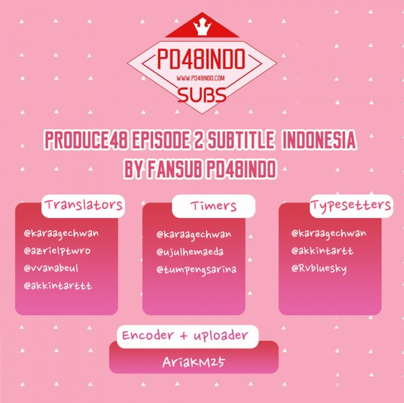 PRODUCEX101 INDONESIA on Twitter: