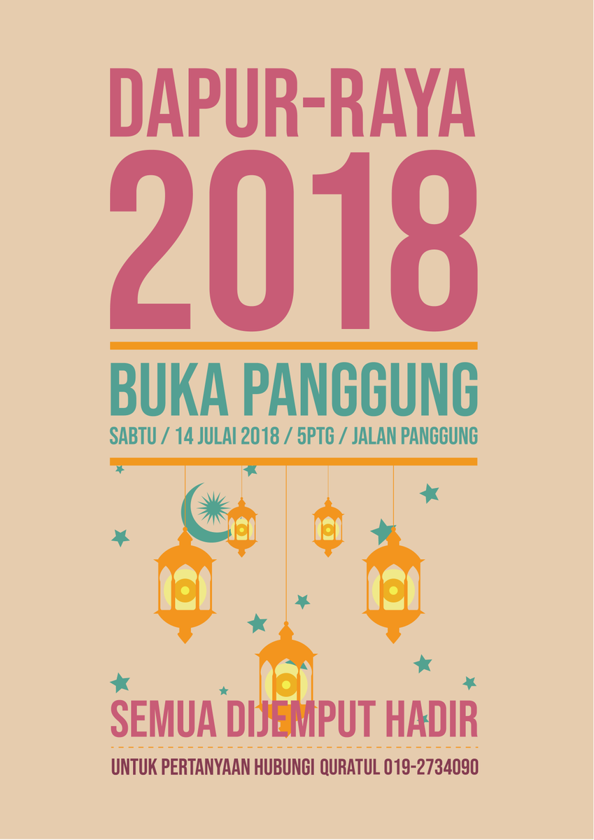 Dapur Jalanan Kl On Twitter Satu Jemn Raya 2018 Buka Panggung Sabtu 14 Julai Jalan Jemput Datang Buat Ramai