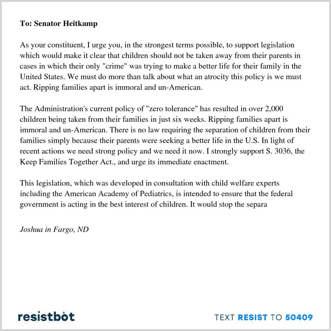 Resistbot Open Letters on Twitter: