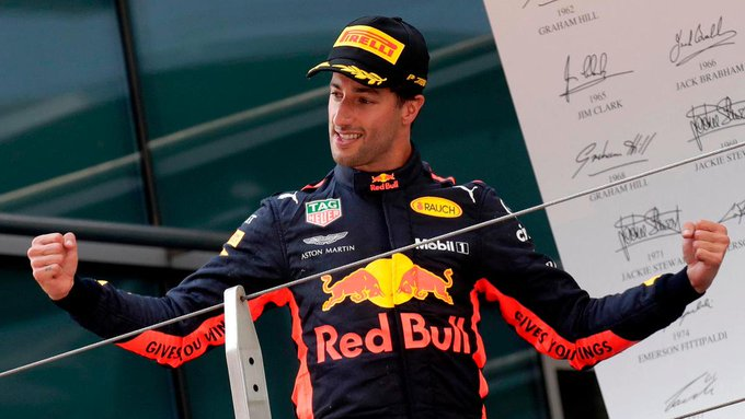 Happy Birthday Daniel Ricciardo