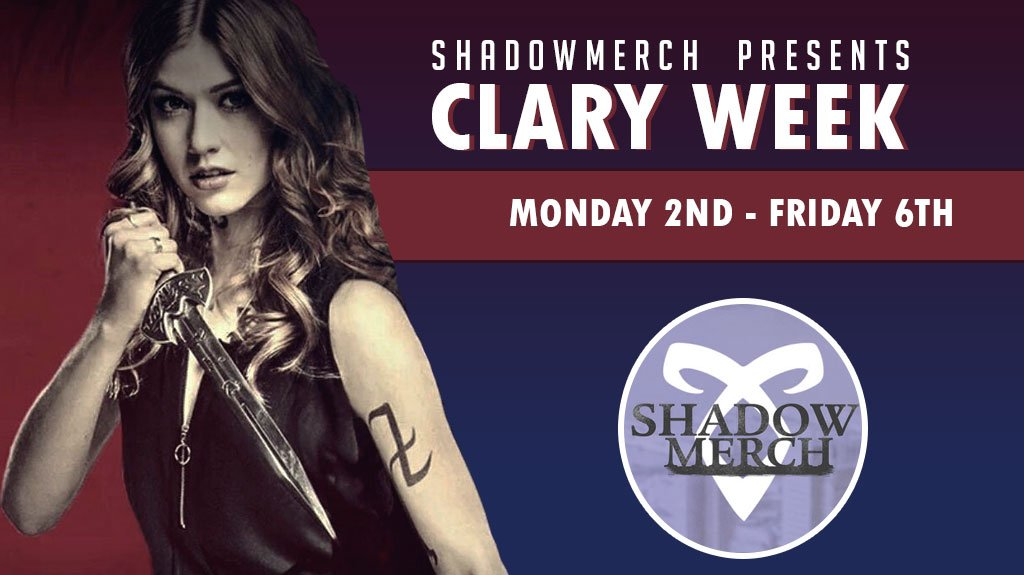 💫  CHARACTER WEEK  💫  Another ship weekend has come to pass but that means that a new character week is about to begin! And who better to kickstart our monday than CLARY FAIRCHILD!  Here's to another strong, powerful, well-rounded leading lady. ❤  #SaveShadowhunters