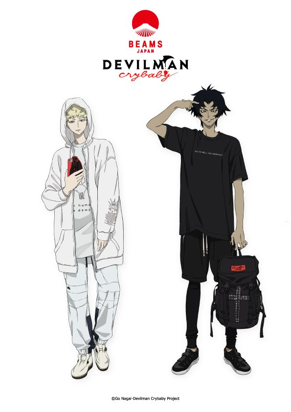 DEVILMAN crybaby meets BEAMS JAPAN-SABBATH SHINJUKU-開催決定!👿東京