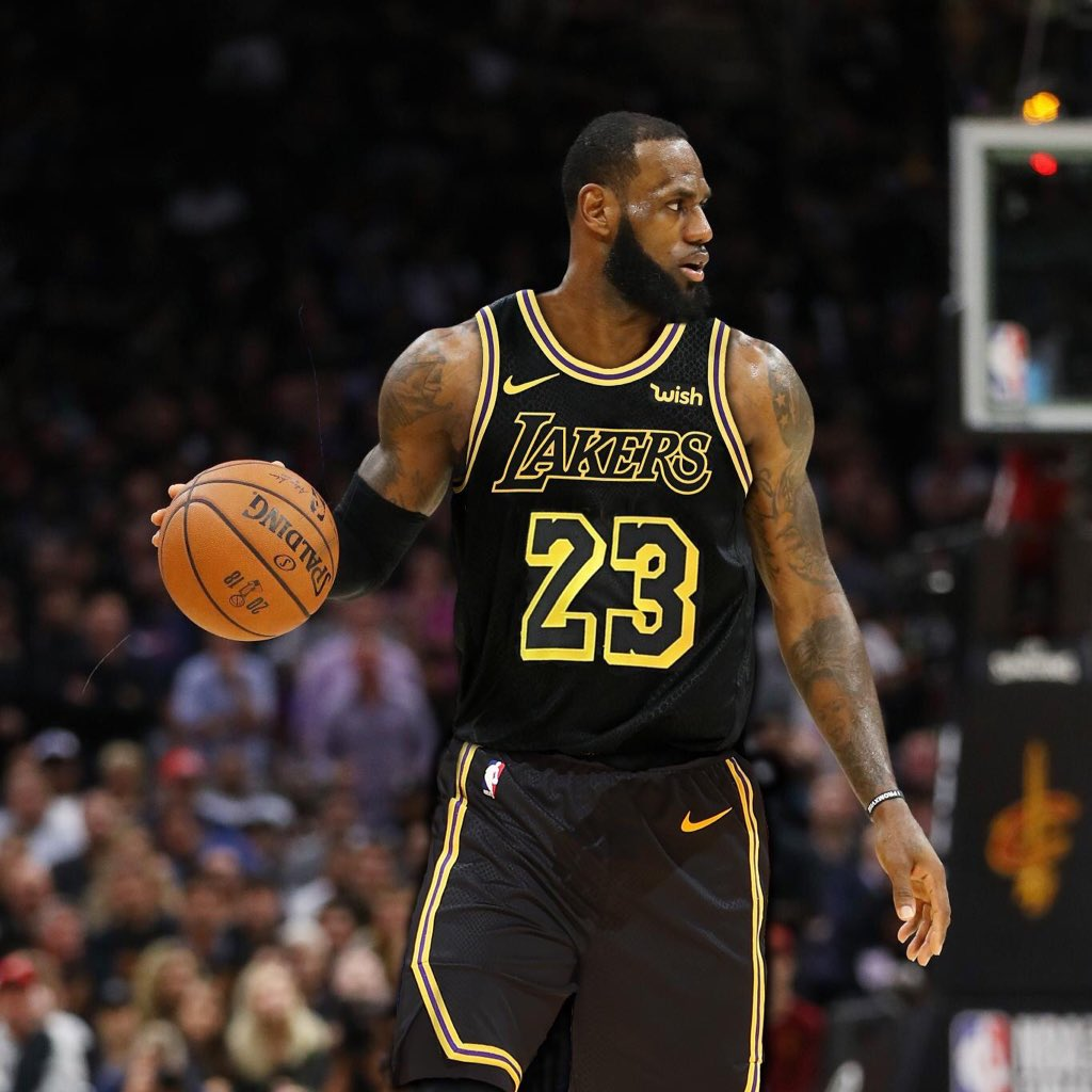 b6e5232ffa8 The Lakers now have had two of the greatest NBA players of all time put on  their uniform. They ve also had LeBron James and Kobe  Bryant.pic.twitter.com  ...