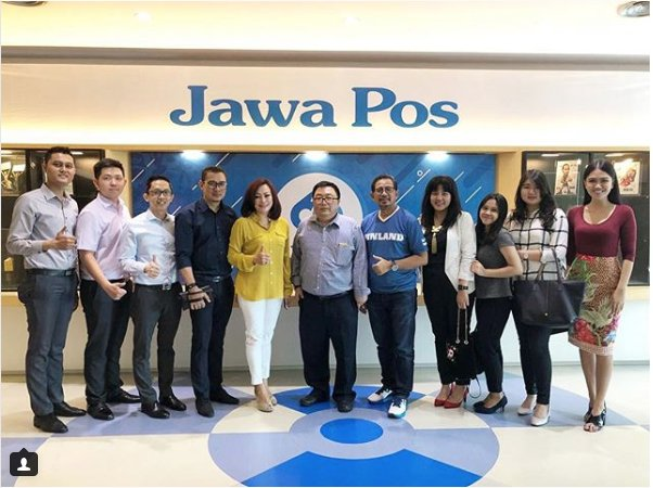 Happy 69th Anniversary to @jawapos . We are from @GrandCitySBY wish you all the very best!#Anniversary #jawapos #Surabaya #69thannivesary #grandcity #visitcompany #managementofficepic.twitter.com/uzTZ6Dgi05