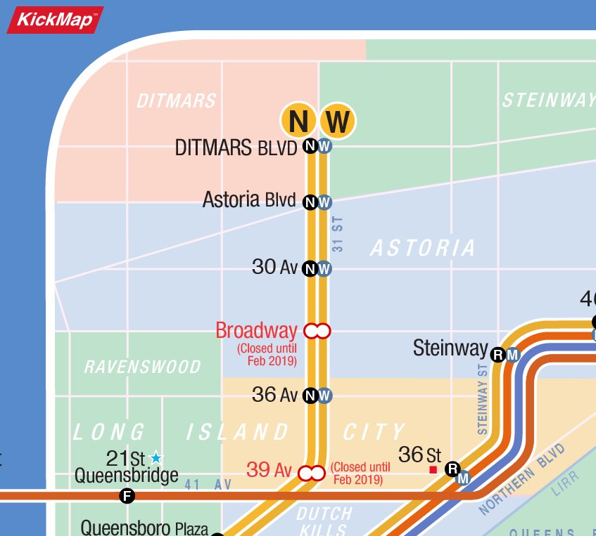 Nyc Subway Map W Line.Kickmap On Twitter Opening The Kickmap With An Internet Connection