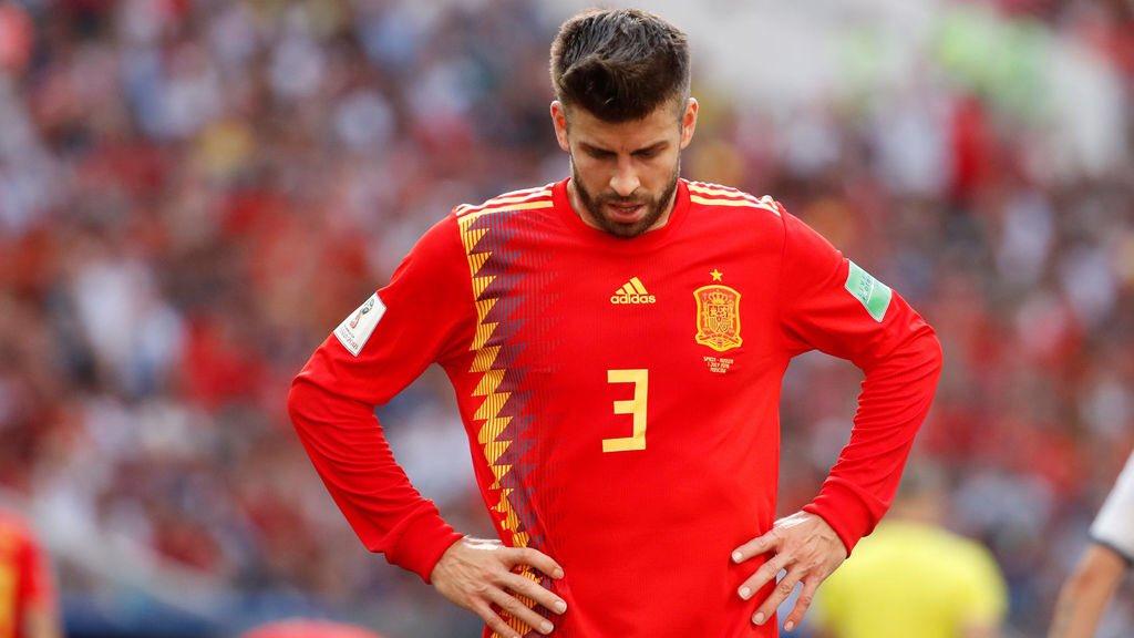 Gerard Pique bất ngờ giã từ ĐT Tây Ban Nha