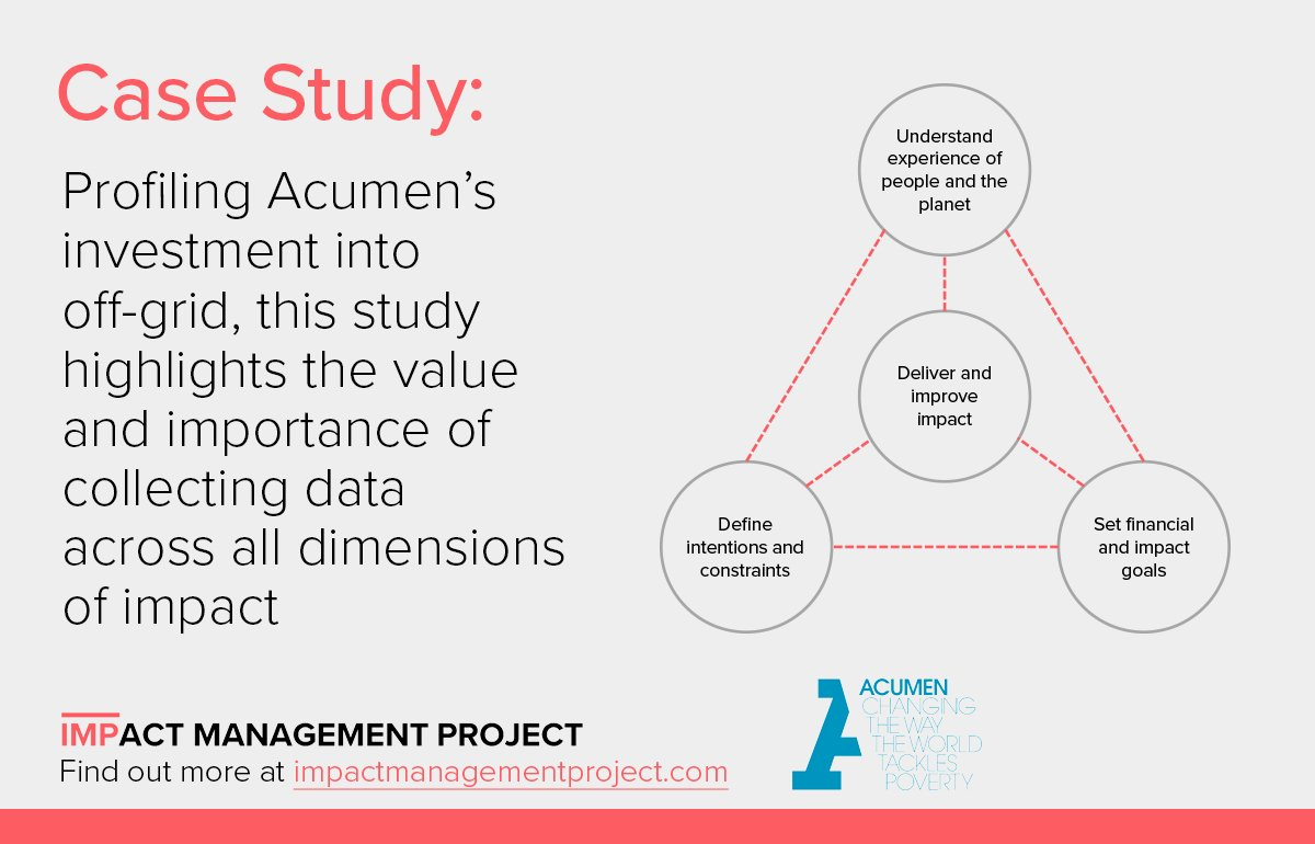 Impact Management Project on Twitter:
