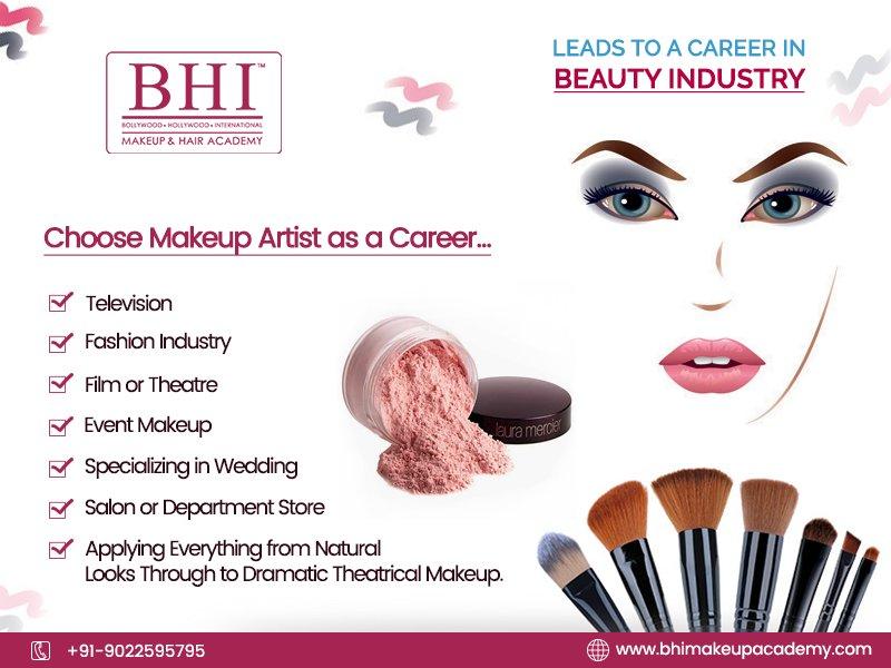Bhi Makeup Academy در توییتر