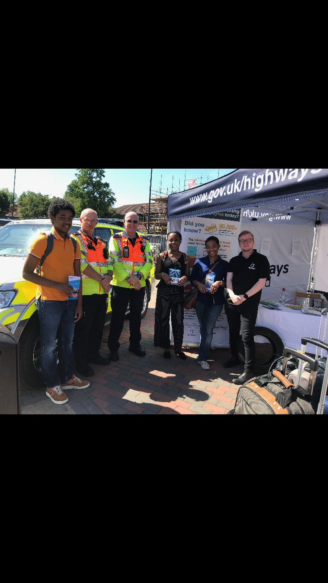 Please come along to our safety awareness event today 10am - 3.30pm @ Gordano Motorway Services #M5 J19 talking about towing and tyre safety.