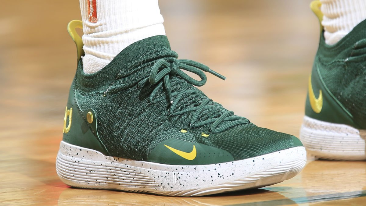 premium selection 0df50 996c2 solewatch breannastewart wearing another seattle flavored nike kd 11 pe