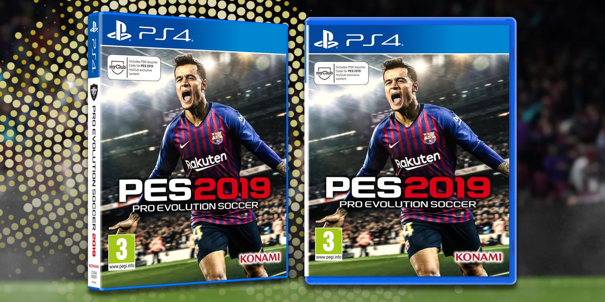 Pro Evolution Soccer's tweet -