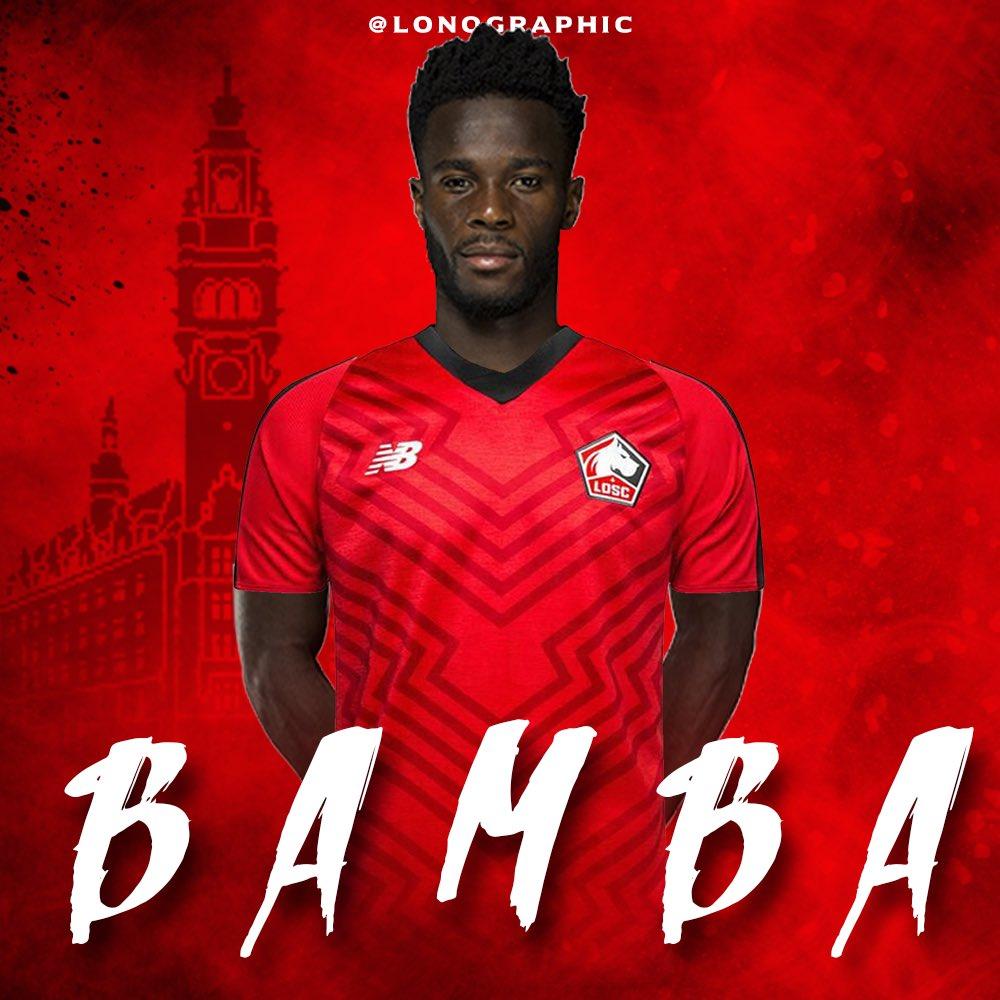 Maillot Domicile LOSC Jonathan BAMBA