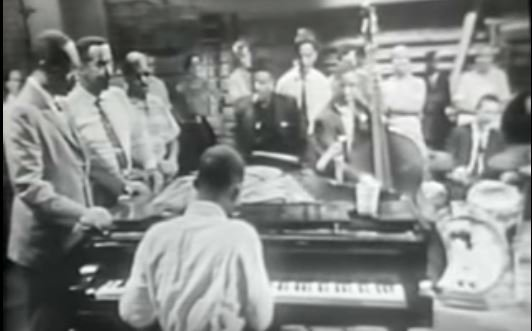 The perfect excuse to watch this again. (Tough crowd.) Happy birthday, Ahmad Jamal.