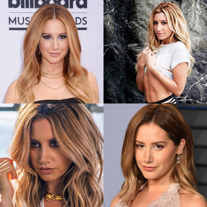 Happy 33 birthday to Ashley Tisdale . Hope that she has a wonderful birthday.