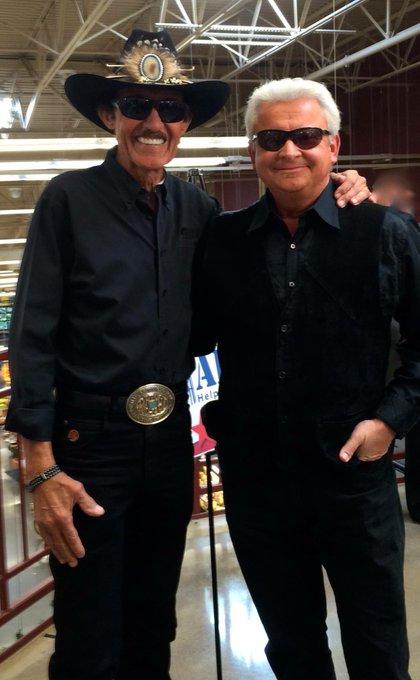 Happy Birthday today to \The King\ & really nice guy Richard Petty!