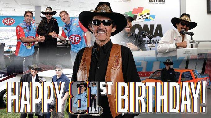 And  to wish Richard Petty, a Happy 81st Birthday!
