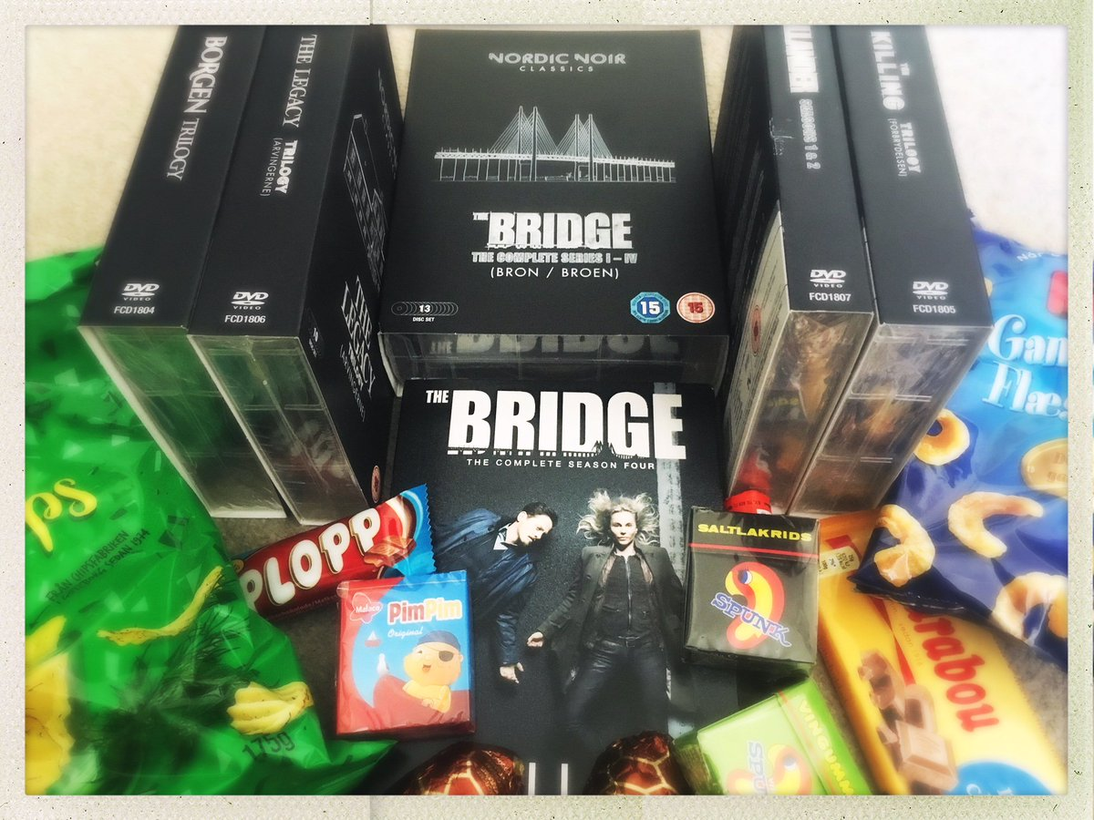 Heyuguys Movie News On Twitter Yes We Re In The Middle Of A Heatwave But We Re Shutting Ourselves In With Newly Released Dvd Of The Bridge Season 4 And The New Nordicnoirtv Classics